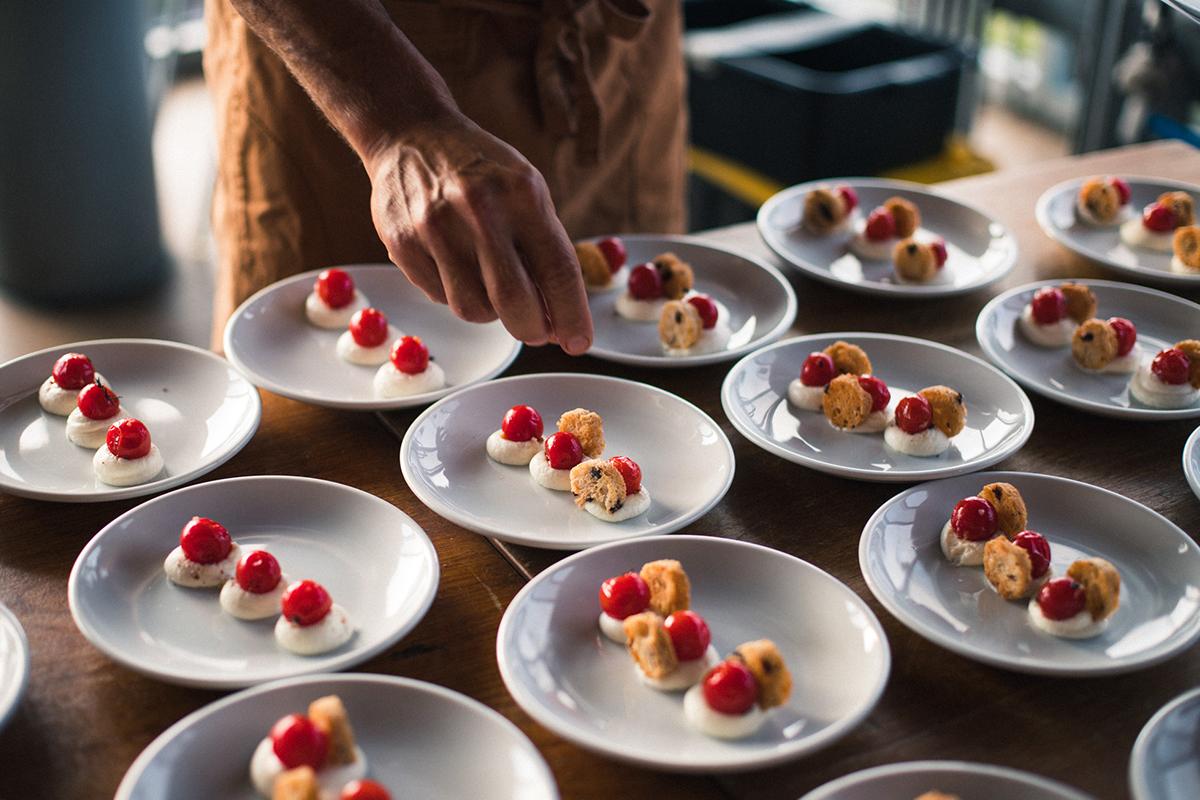 Catering La Jolla Wedding